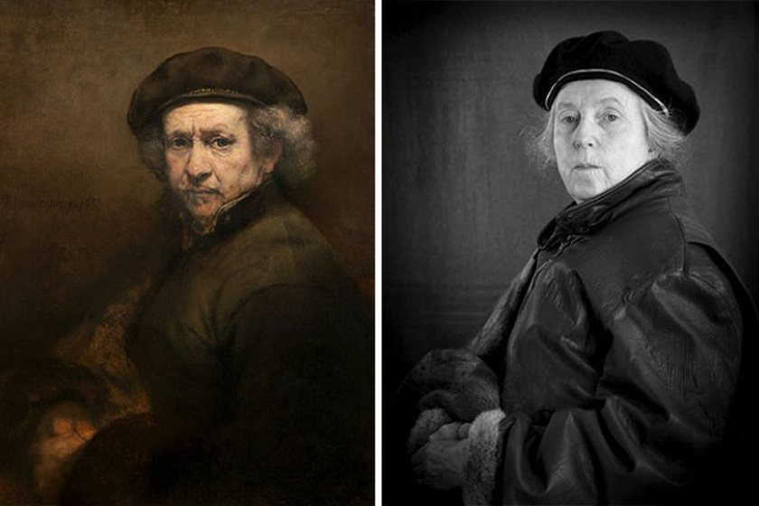 Laura Hofstadter and Rembrandt